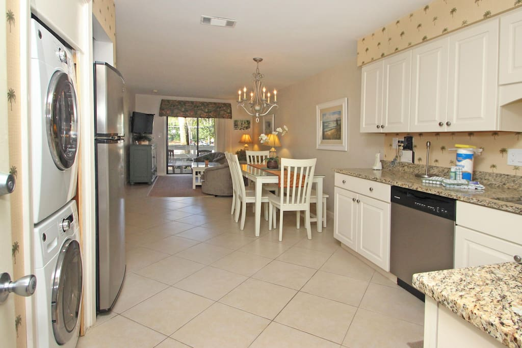 Spacious, open floor plan With upgrades and renovations Just across the street from Folly Field Beach