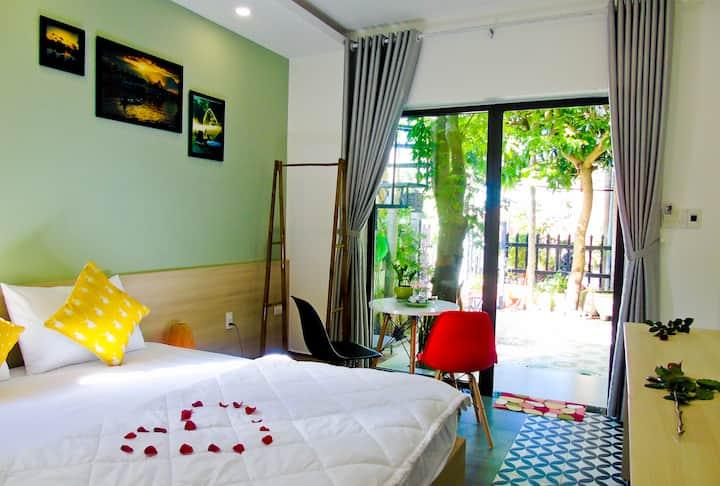 Xanh La Hoi An homestay- 1  king bed
