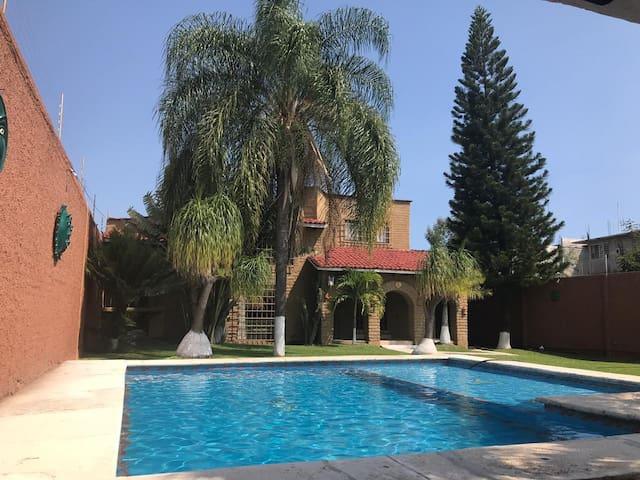 Hermosa Casa En Cuautla con Alberca