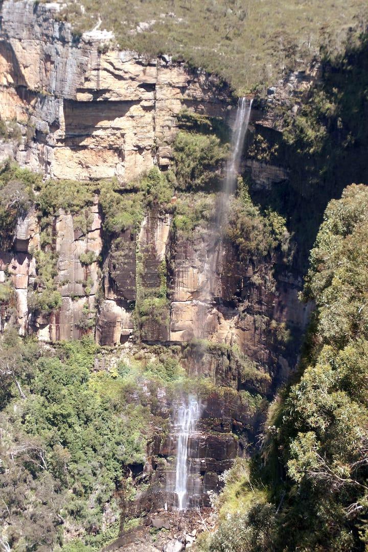 Bridal Veil falls 300 meters