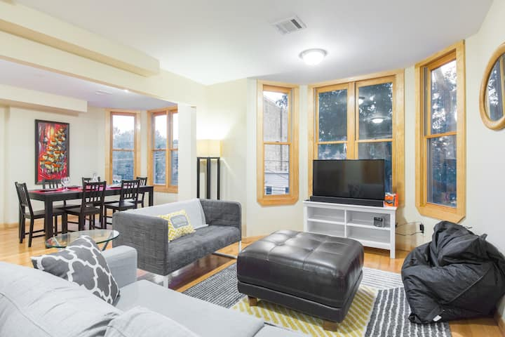 5 MINUTES to NYC! Family-friendly 6 BEDROOMS!