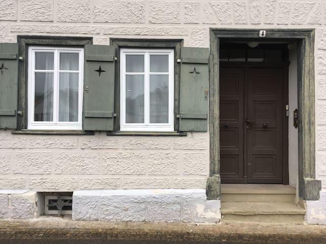 Wohne direkt in der Altstadt von Schwäbisch Hall! - Schwäbisch Hall - Apartemen