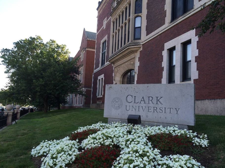 0.3 Miles from Clark University   Walking distance! Book Now!