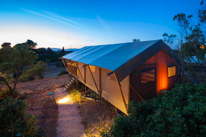 Glamping tent (4p)