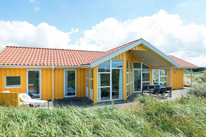Relaxing Holiday Home in Lokken with Whirlpool