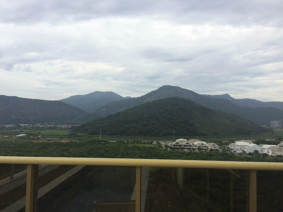vista montanha