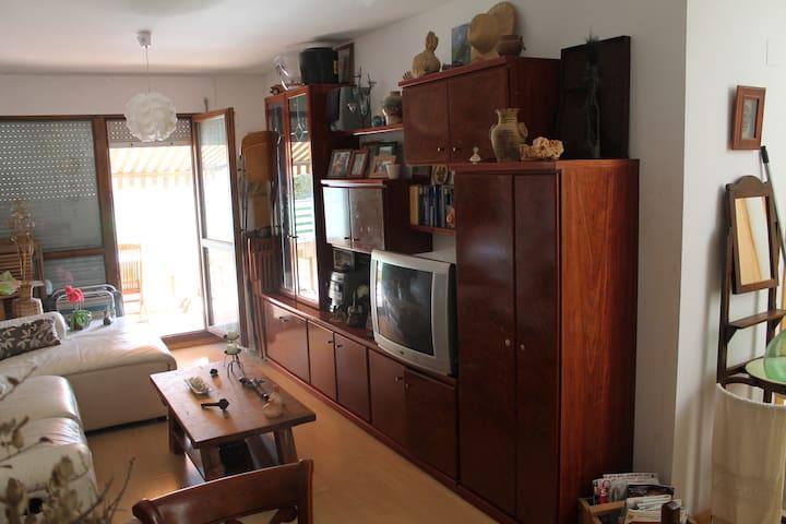 El salón cuenta con TV con TDT