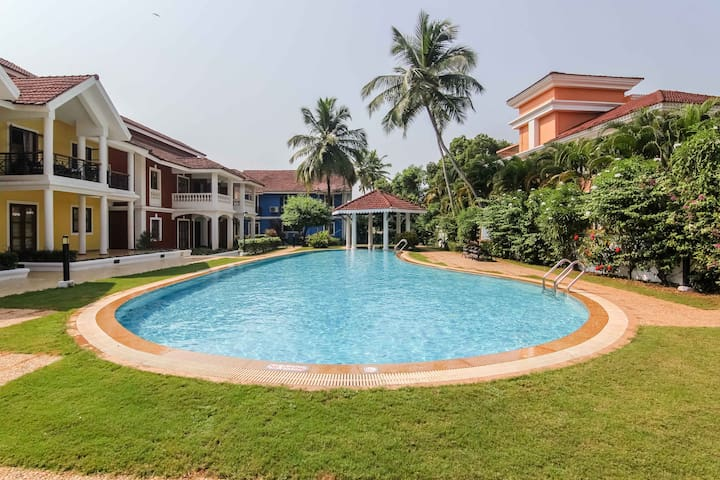 2BHK Apartment near Sunset Beach South Goa