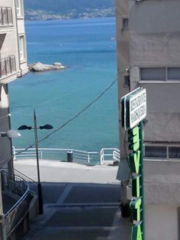 Apartamento cómodo con vistas al mar