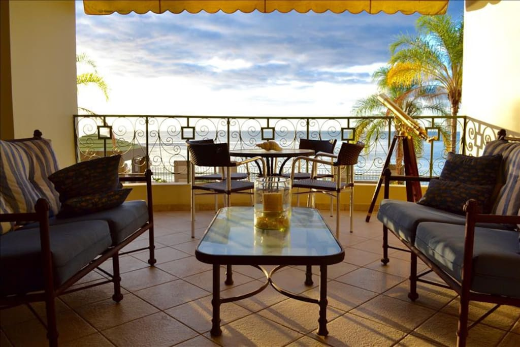 Ocean views and breathtaking sunsets await