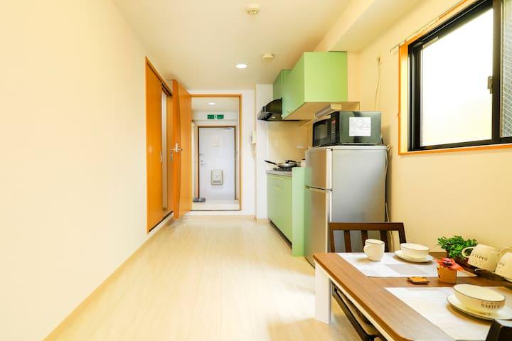 Room 411/2Mins to Station/5Mins to Namba/Cozy