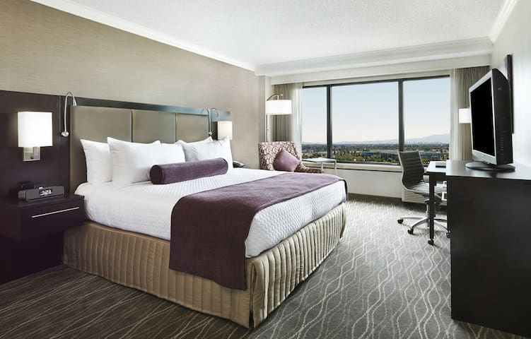 hotel room in crown plaza hotel - Milpitas - Apartament