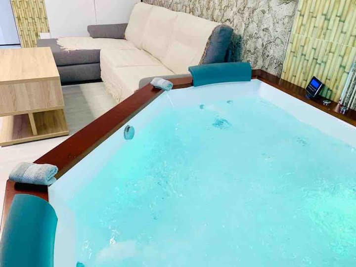 Loft With jacuzzi in Malaga