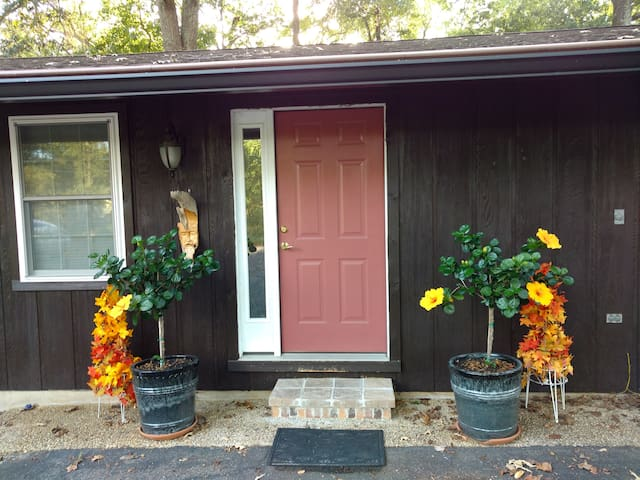 Guesthouse entrance