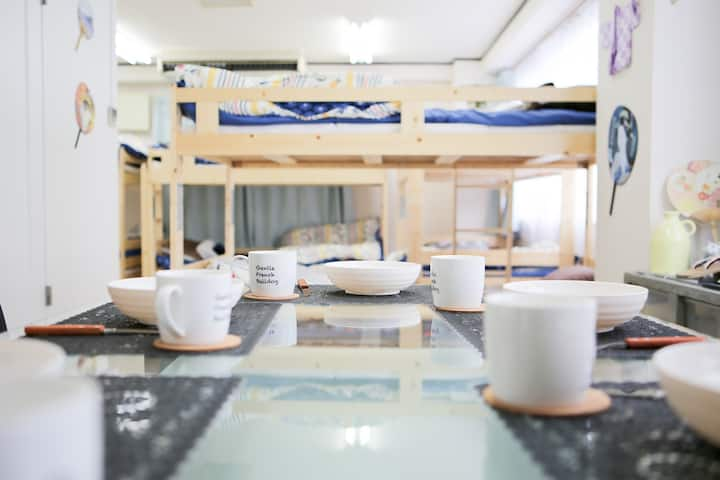 SouthOtsuka  Floor3★WiFi★Max8ppl★Airport50mins!