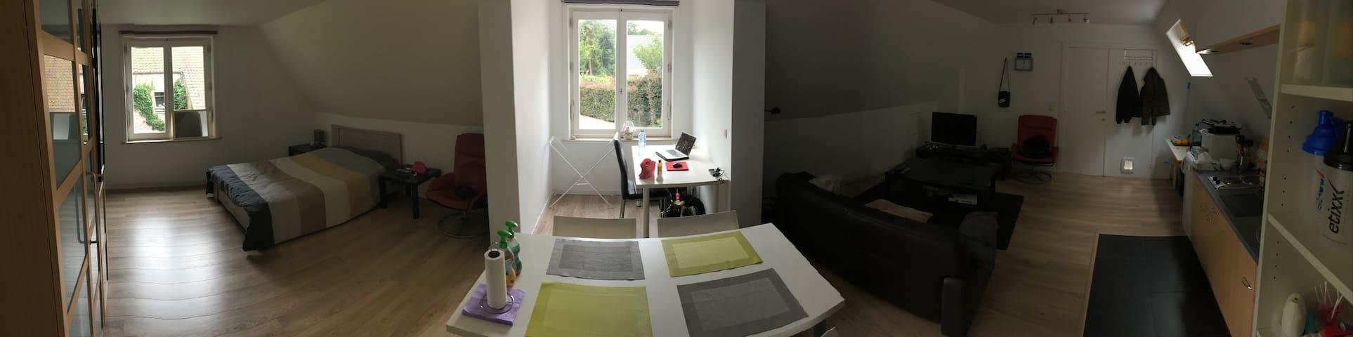 Prachtige ruime en lichtrijke studio bij Brugge - Jabbeke - Casa