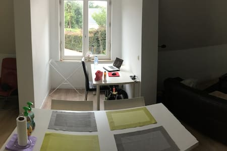Prachtige ruime en lichtrijke studio bij Brugge - Jabbeke - House