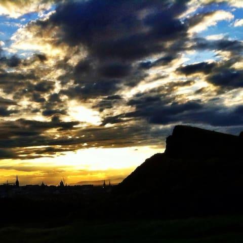 Quiet haven in the beautiful city of Edinburgh - Edinburgh - Apartemen