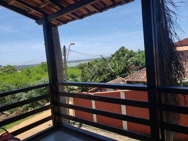 Casa com vista para o mar a 210mt da Praia local