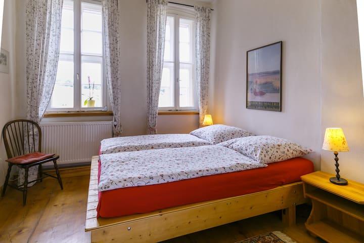 Abendrot Zimmer im Alten Forsthof Mollenfelde