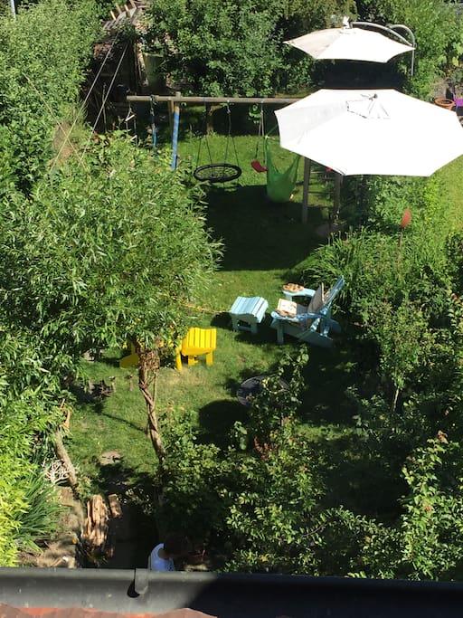 Garden - relax and enjoy
