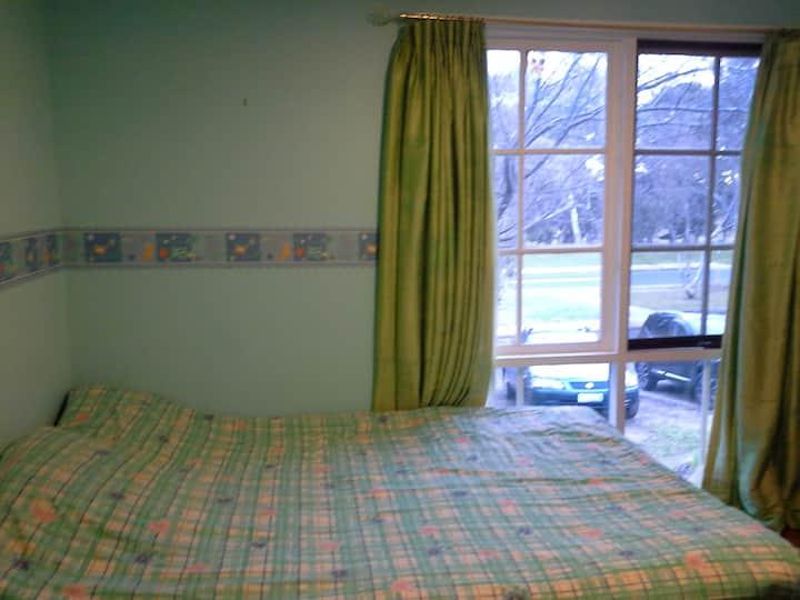 Quiet and full of light bedroom