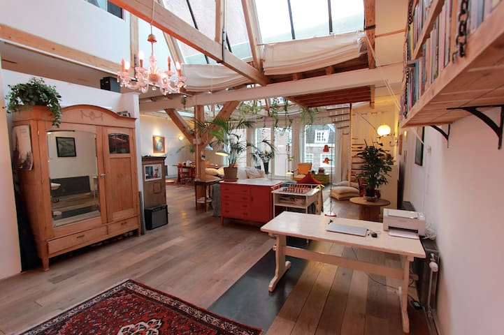 Beautiful loft in centre of Amsterdam
