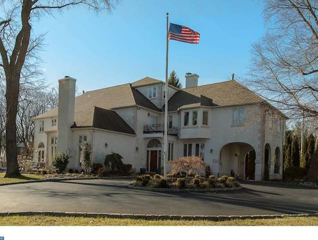 Gorgeous Mansion in Philly's best suburb.