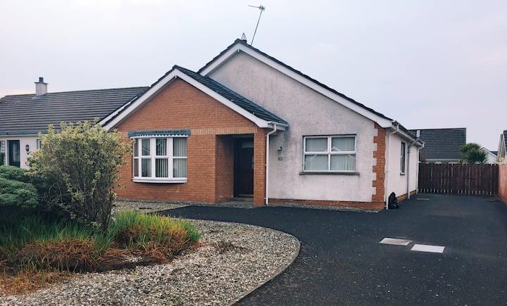 Castlerock Family/group sized bungalow