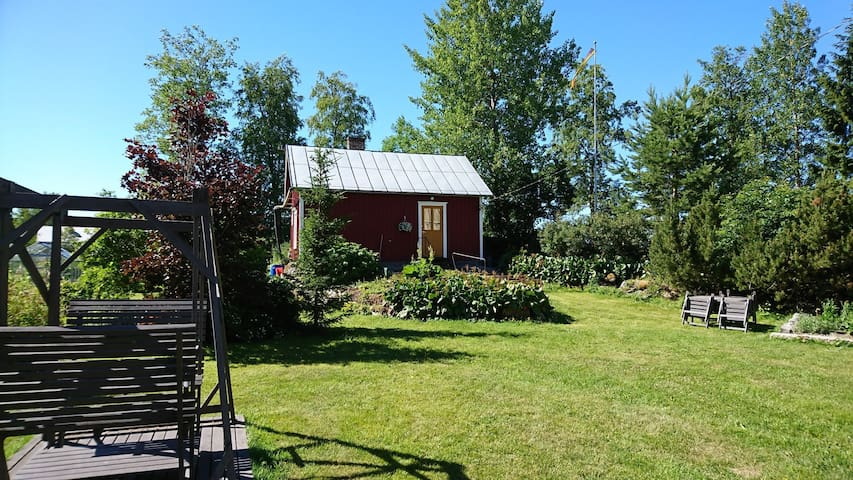Small guesthouse with sauna on the  countryside