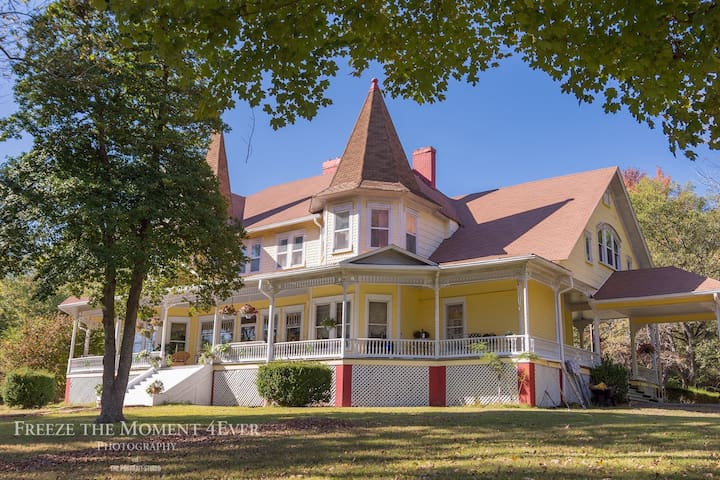 5600 Square Foot 1891 Victorian Mansion.
