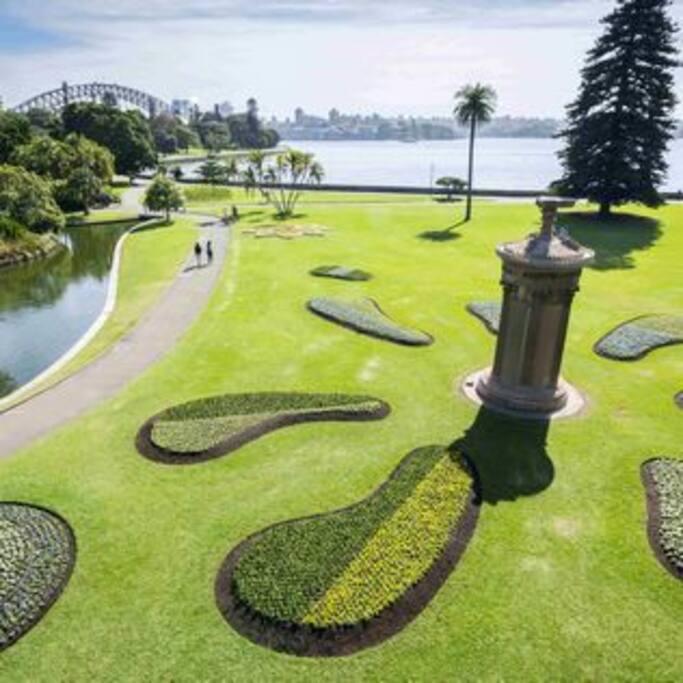 the beautiful Botanic Garden, have a picnic :)