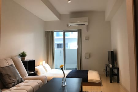 New Apt! 2min St★Nearby Shinsaibashi/Namba - Chuo Ward, Osaka - Apartmen
