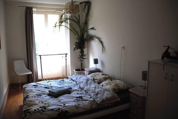 Private room in the center of Biel