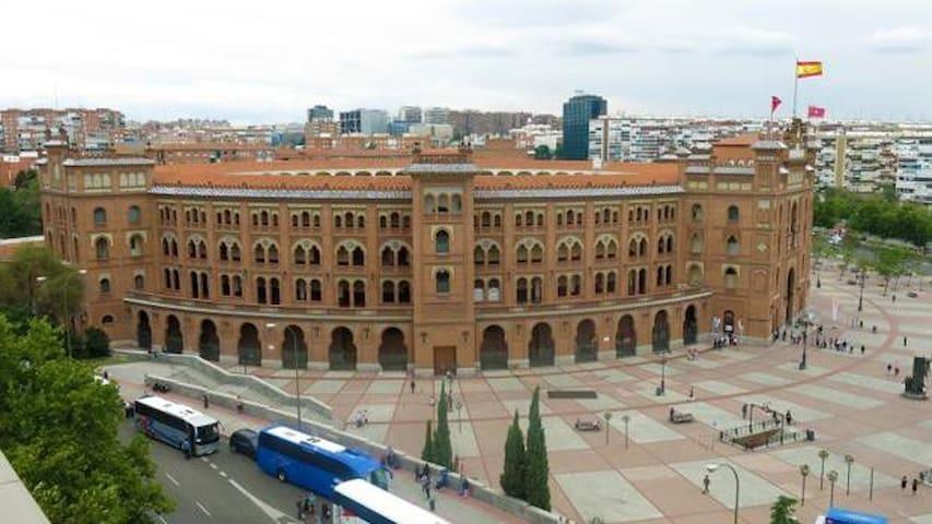habitacion privada en departamento en madrid