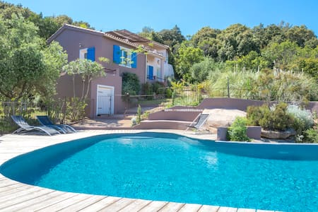 VILLA & POOL private SEA VIEW quiet - Porto-Vecchio - Talo
