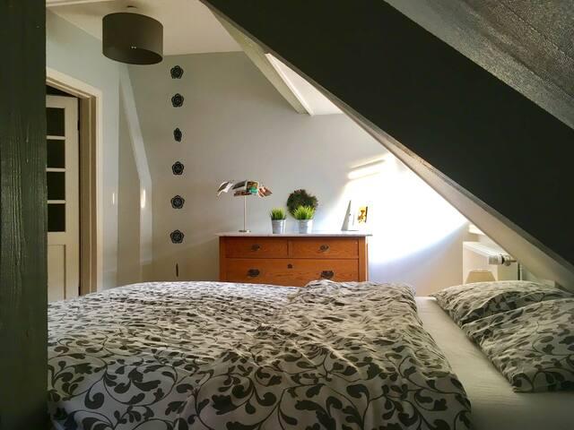A private room/bath-room/living-room near center