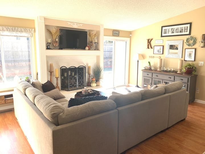 Updated Ranch Home - Cozy and Quiet