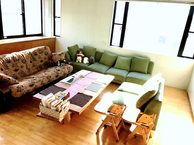 Relaxable big bath in homish shared house - Machida-shi