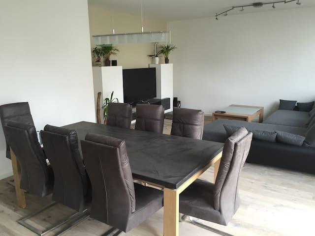 120 qm Freiraum in moderner Stadtvilla - Mühlheim am Main - Casa de campo