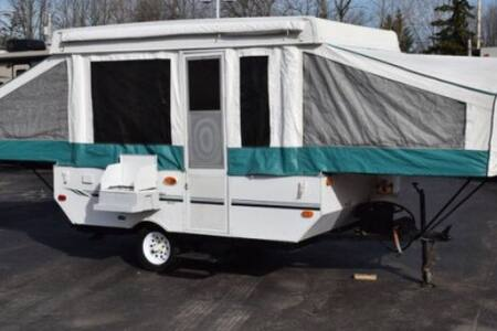 Pop UpTent Camper with cold a/c! - Knoxville - Campingvogn
