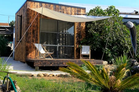 Wooden Eco Cabin 1km from Ribeira DÌlhas beach - Santo Isidoro - 小木屋