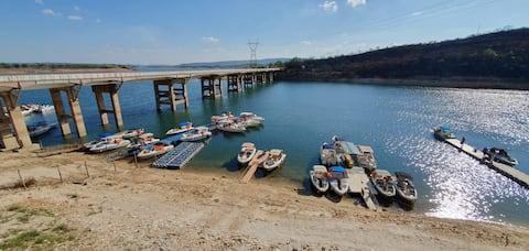 Capitólio: Rancho melhor ponto da  represa Furnas