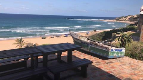 Guinjata, beachfront Inhambane prov, Mozambique.