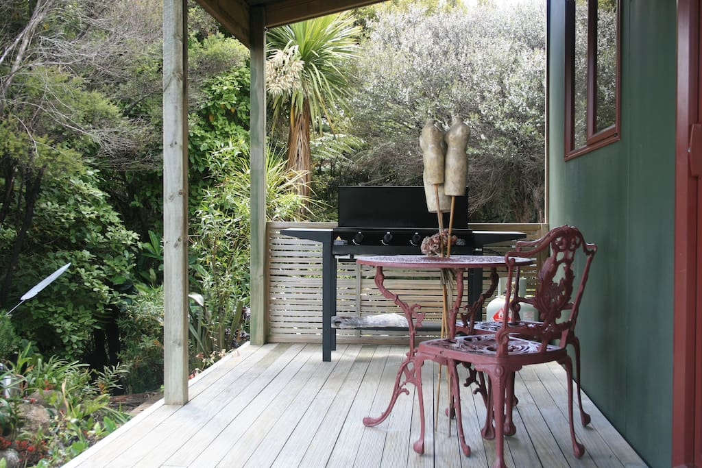 Relax on your deck and enjoy cooking on your BBQ