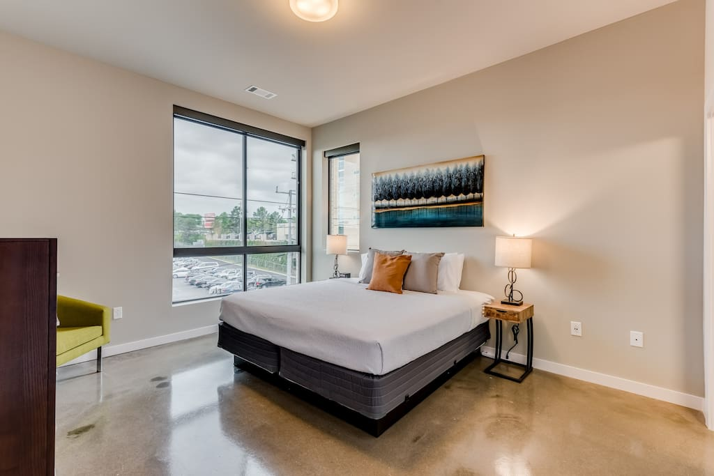 Second Bedroom at The James by Stay Alfred