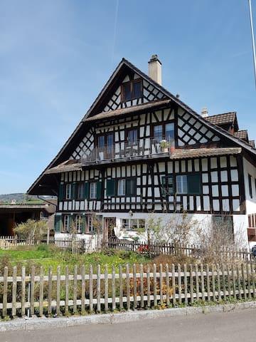 schöners grosses helles Zimmer - Uerzlikon - Casa