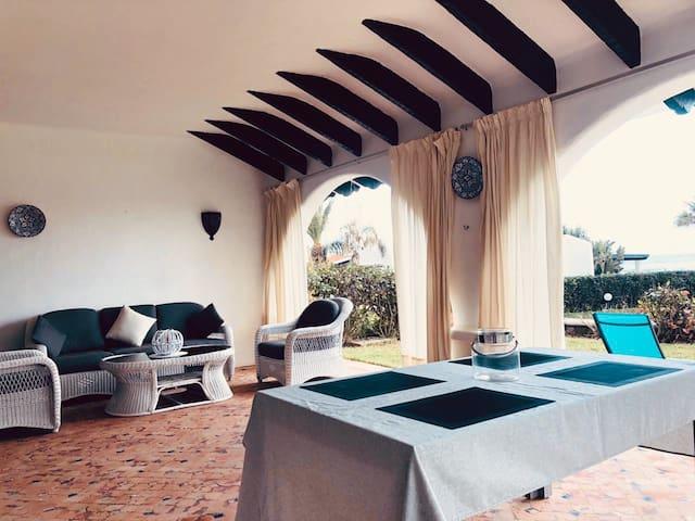 Villa front de mer Restinga Smir