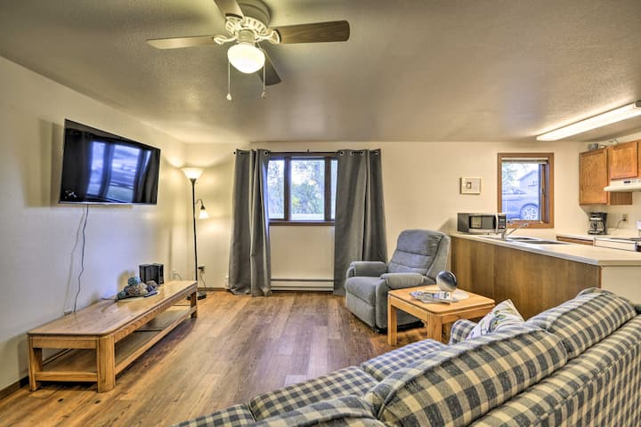 NEW! Charming Columbus Apt Along Yellowstone River