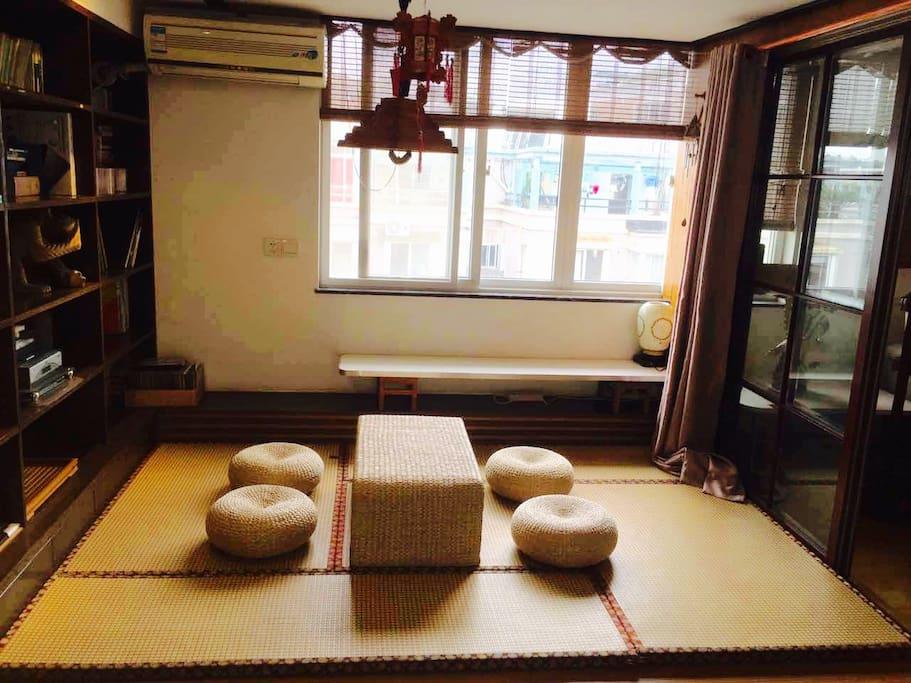 楼上日式禅房